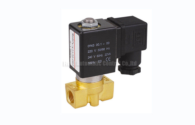 "VX Series 2 Way Pneumatic Solenoid Valve G1/8""~G1/2"" For Vacuum System"